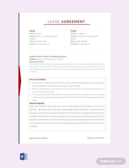 lease agreement1