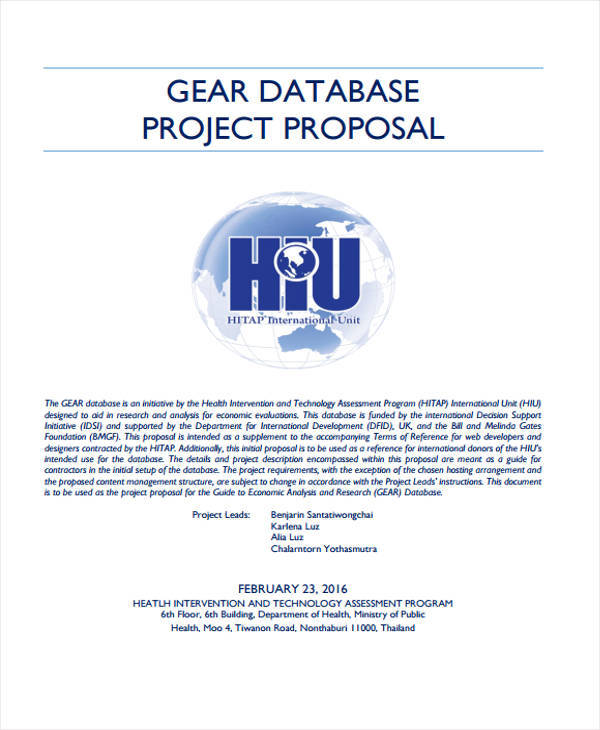simple database project