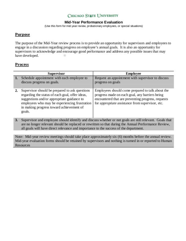 What Is An Employee Evaluation Form And How To Use It