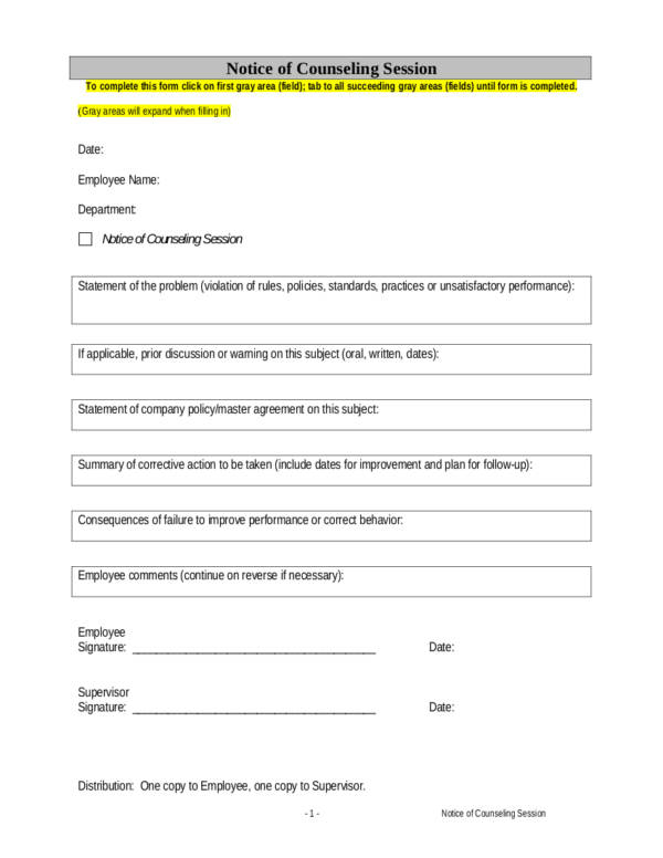 100 progressive discipline form template attendance policy effective employee management issuing proper employee warning pronofoot35fo Images