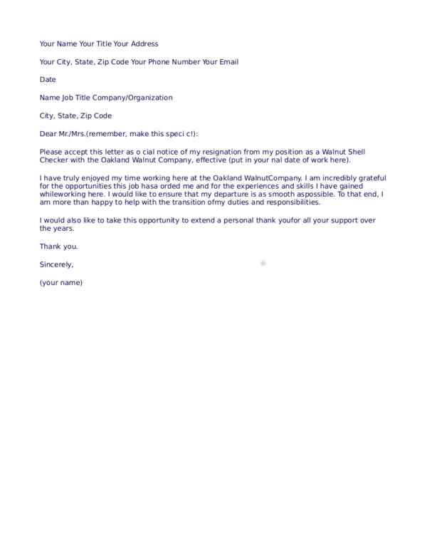 Resign Letter For Worker from images.sampletemplates.com