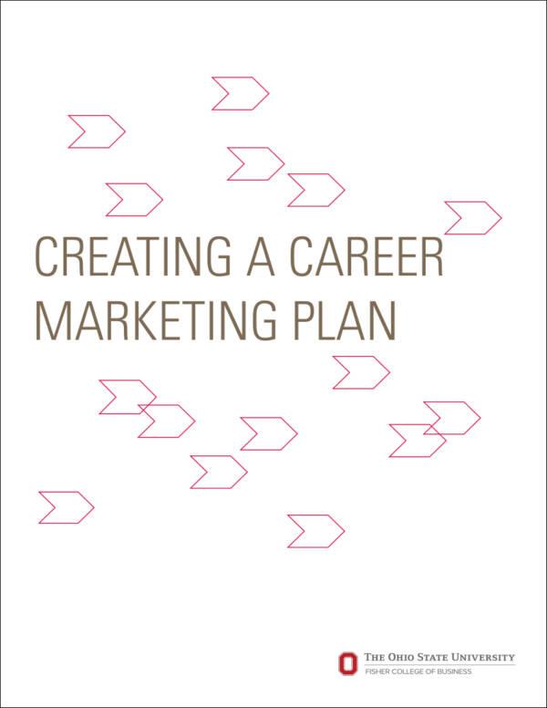 careermarketingplanfillable