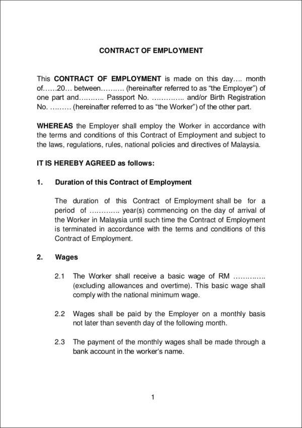 What You Need To Know About Employment Contracts—Free Pdf Samples