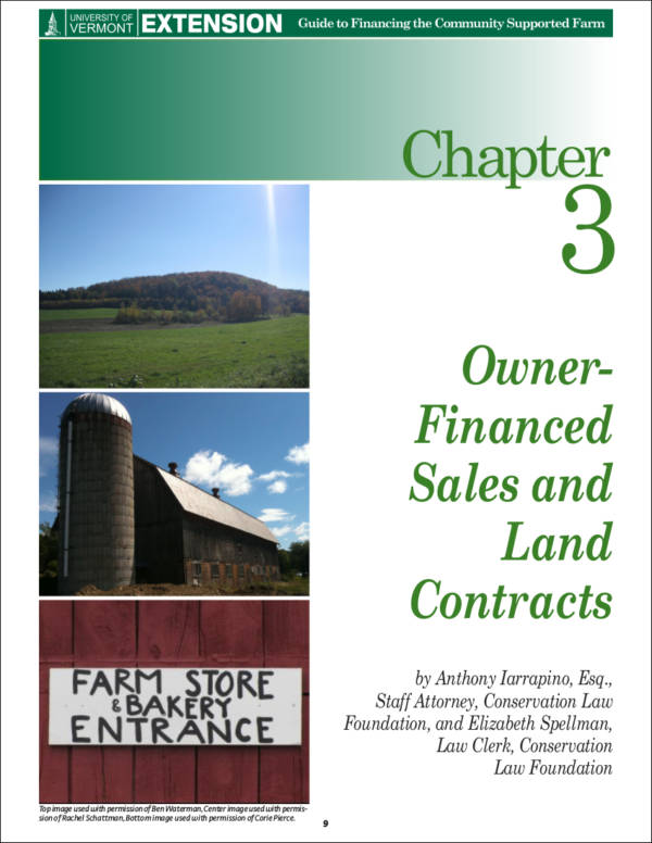 farm land contract