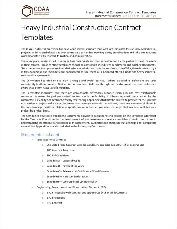 Important Elements Of A Contract  Contract Samples In Pdf