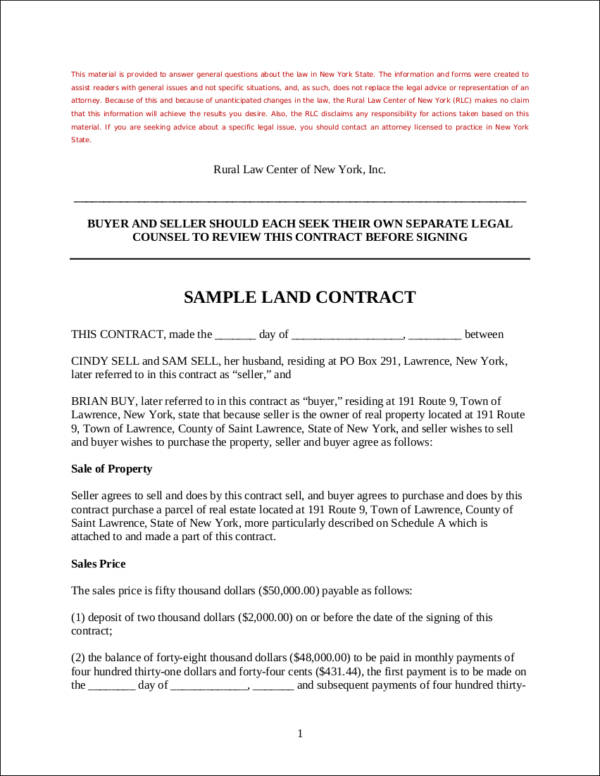 Basics Of Land Contracts How It Works And The Information You