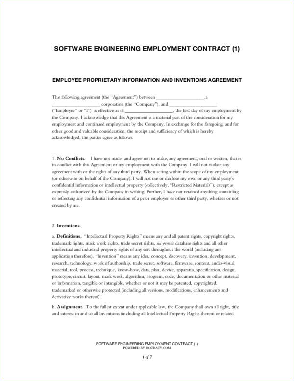 What You Need To Know About Employment ContractsFree Pdf Samples