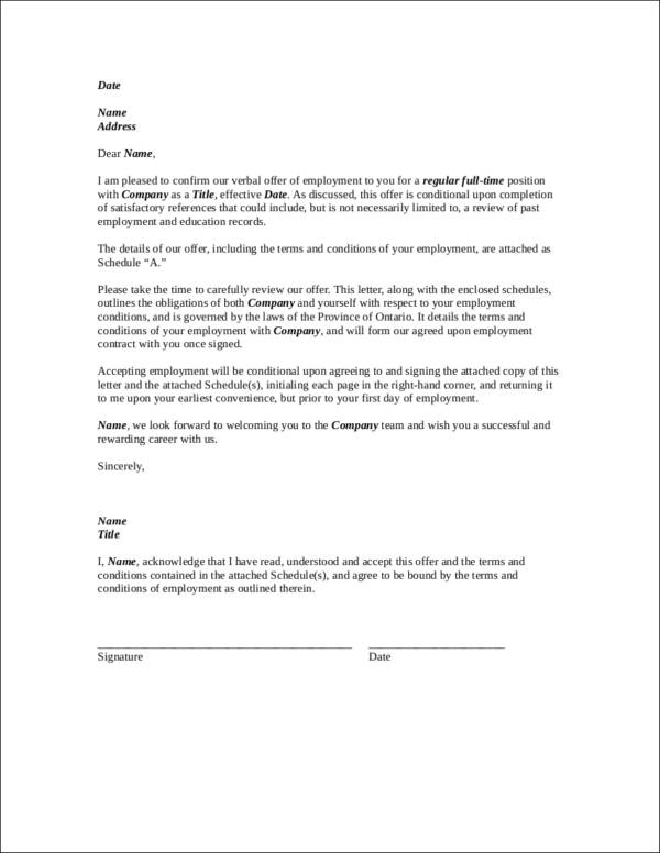 sample employment agreement contract template1