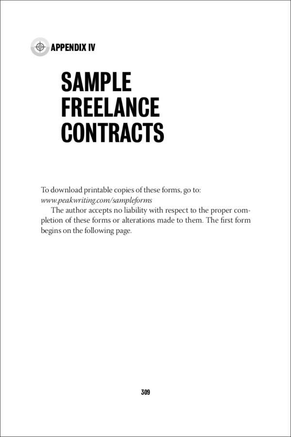 sample freelance contracts