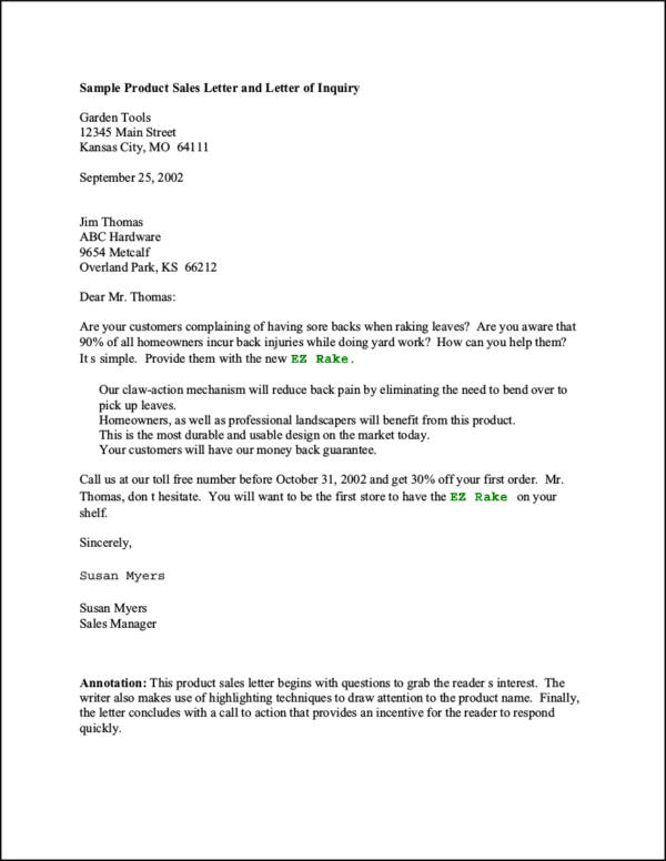 8 Useful Tips of Successful Sales Letters with Free Downloadable – Professional Sales Letter