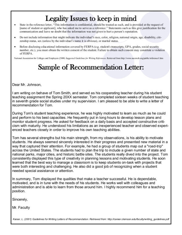 How To Write A Captivating Recommendation Letter For Employment And
