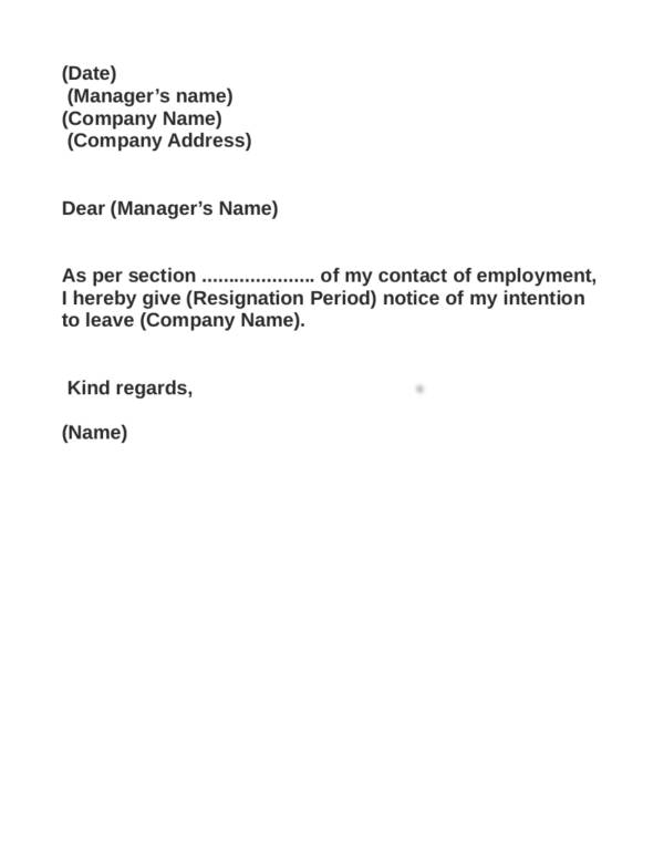 job resignation letter sample effective immediately things you need to remember when writing a resignation 22649