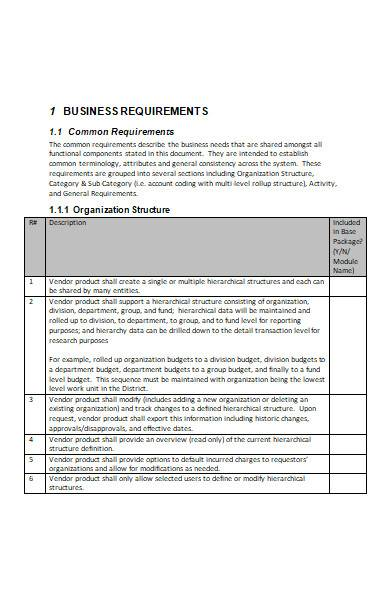 business need template in ms word