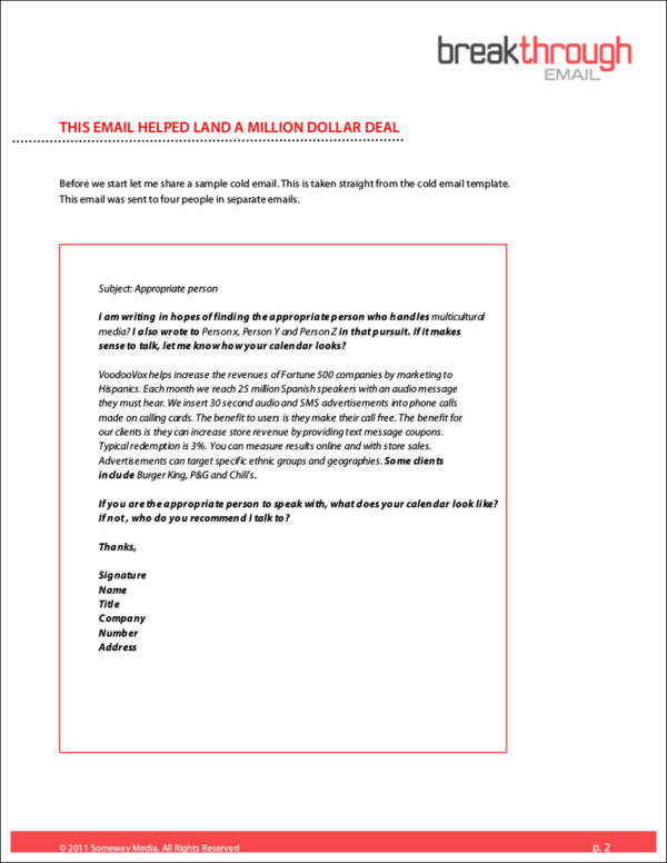 email company introduction letter template