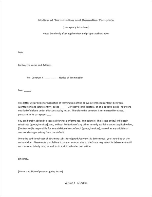 Breach Of Contract Letter Example from images.sampletemplates.com