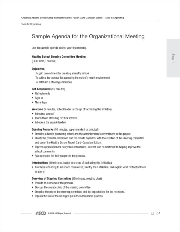 Business Agendas For Small And Medium Enterprises: 10 Samples And