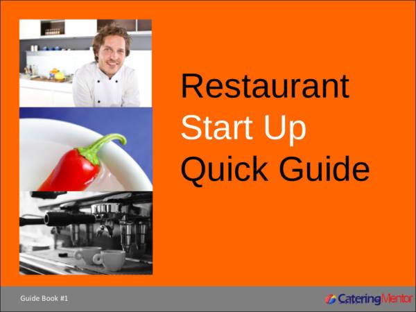 restaurant start up quick guide