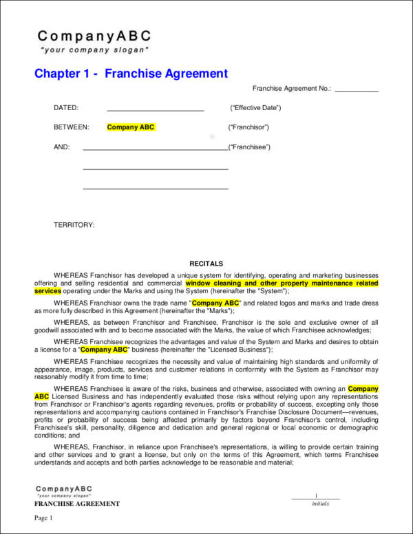 Things You Need To Know About Franchise Contracts And Agreements