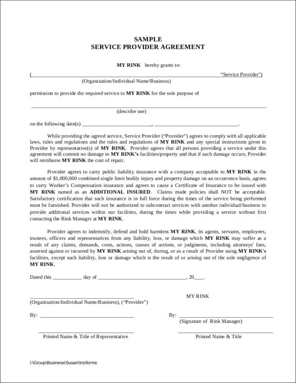 service provider agreement template - why your business needs long term service contracts