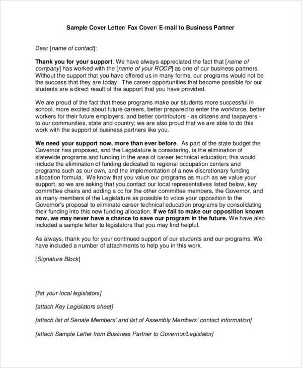 business partnership thank you letter