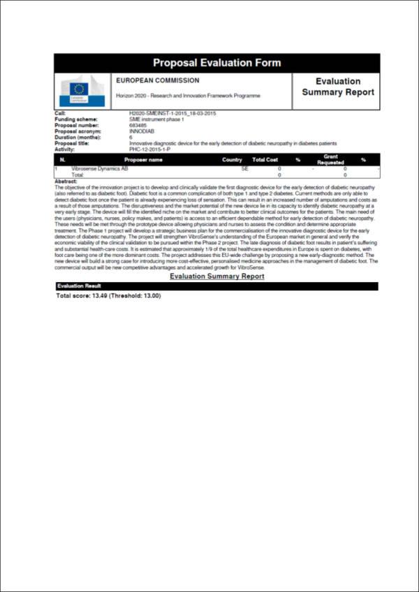 marketing proposal evaluation form sample