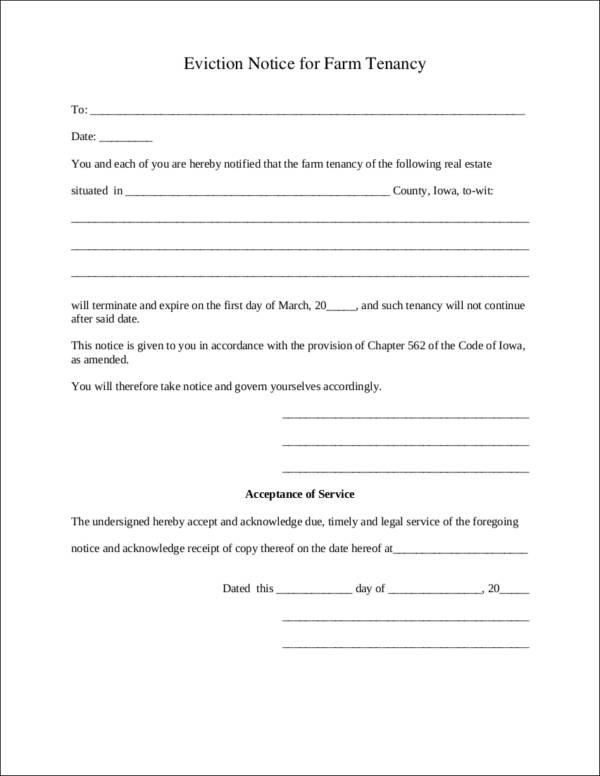 10 Day Eviction Notice Template from images.sampletemplates.com