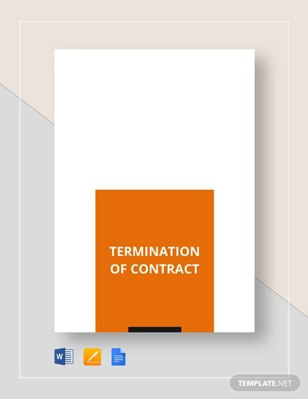 termination contract1