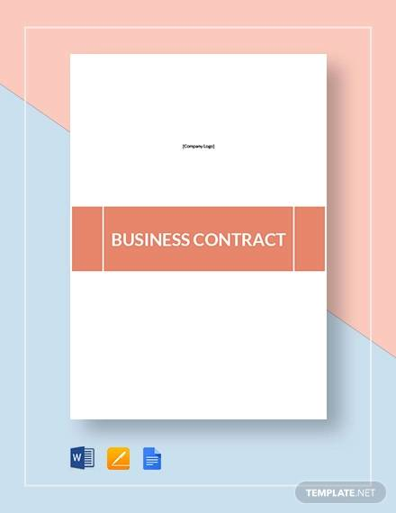 business contract2