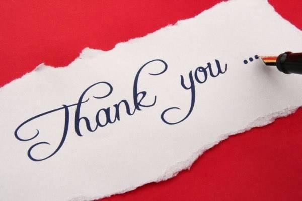 19 professional thank