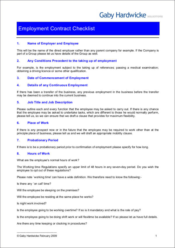 45 Sample Checklist Samples Templates Sample Templates