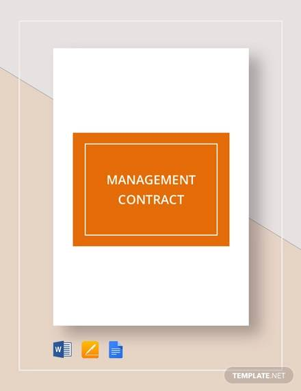 management contract