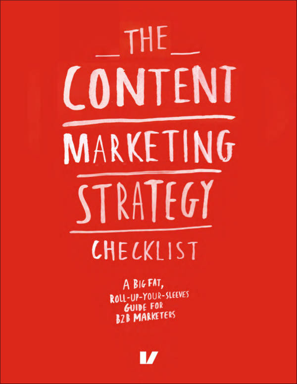 content marketing strategy checklist sample