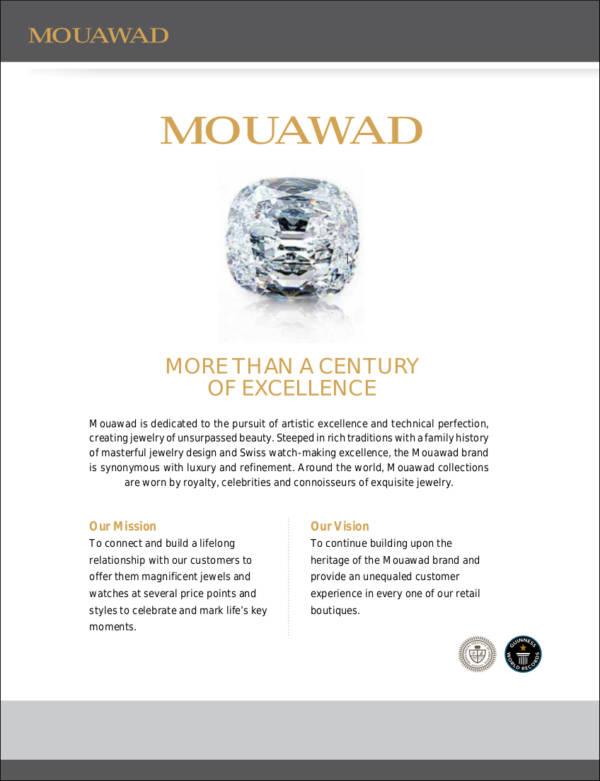 sample company profile for diamond trading company