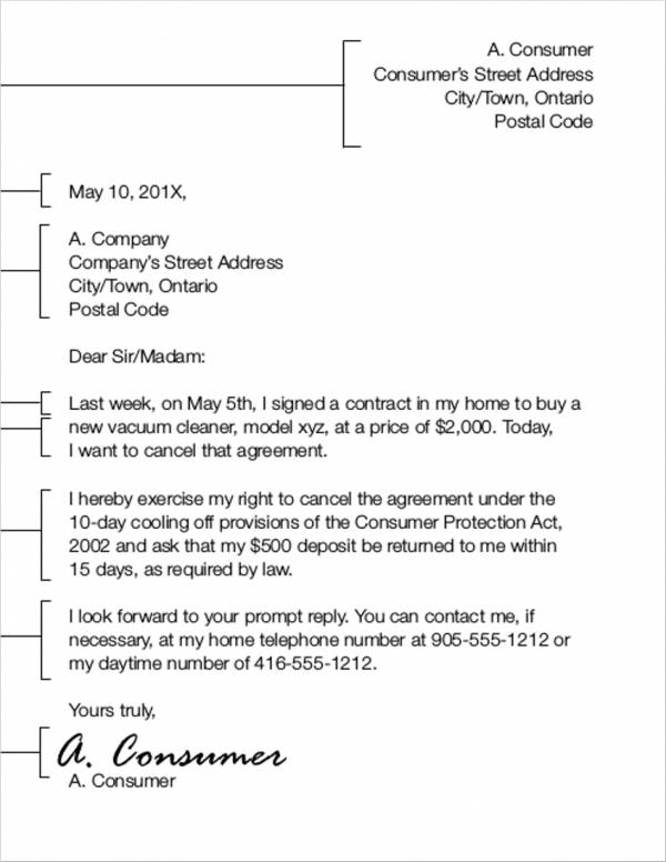 27+ Contract Termination Letter Examples & Templates - Free Word ...