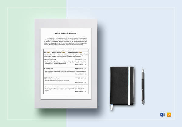 applicant-appraisal-form-evaluation-template