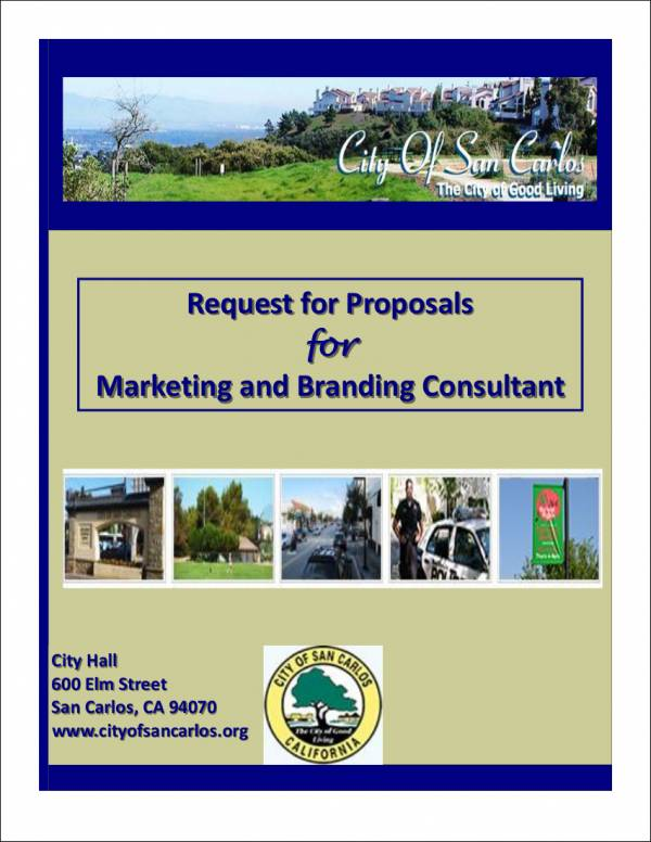 branding consultant request for proposal