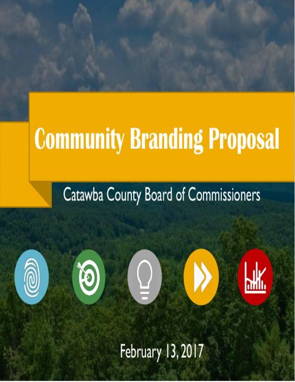 community branding proposal