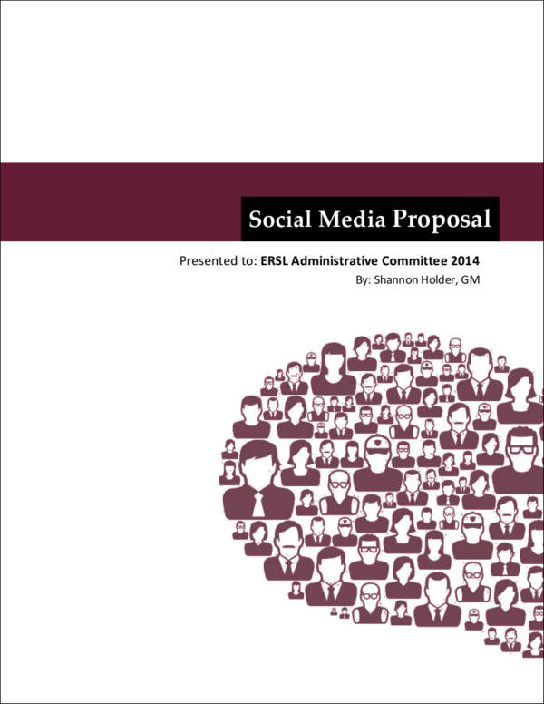 social media marketing proposal in pdf
