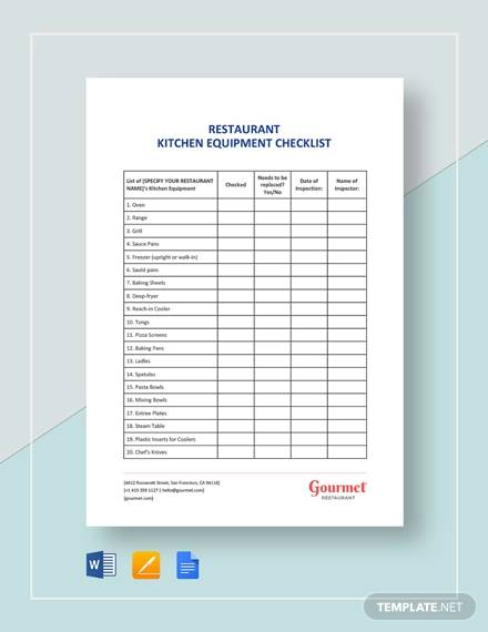 free 7  equipment checklist samples  u0026 templates in excel