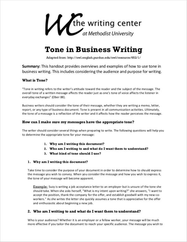What is business report writing