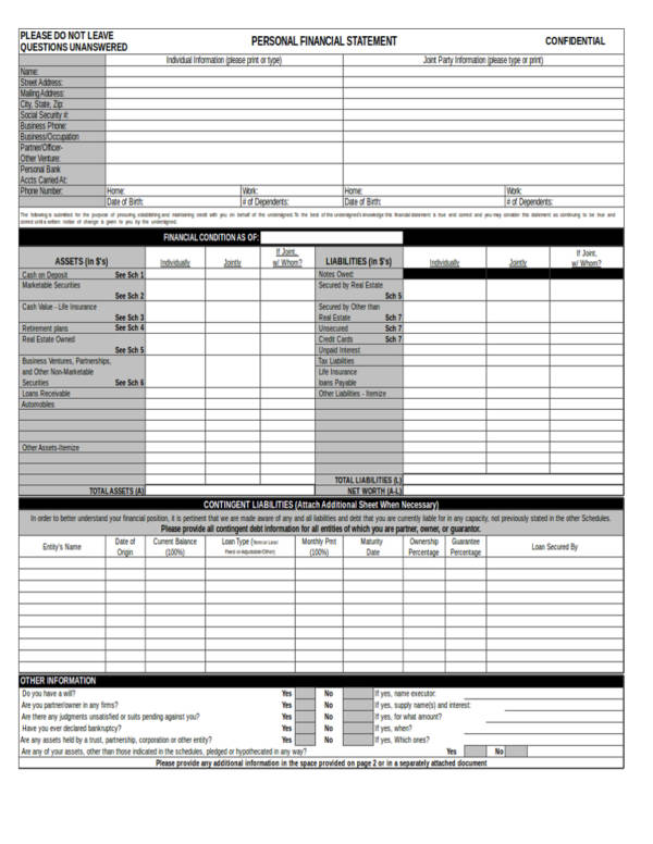personal financial statement worksheet excel Financial statement food and clothing how wealthy are you other expenses personal loans (fair market value less mortgage) other debt business value (net) home.