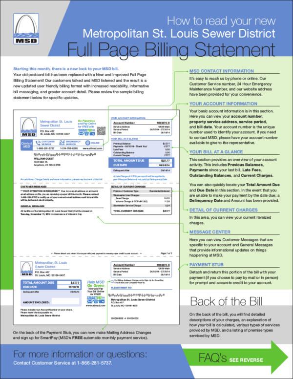 sample fullpage billing statement format