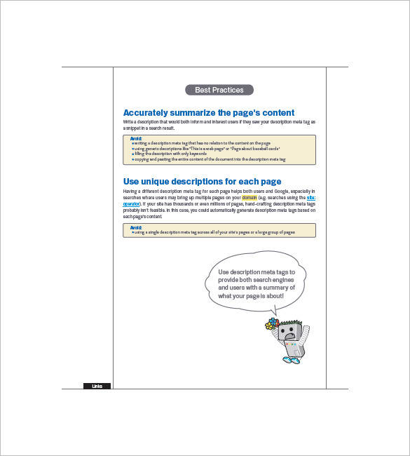 downloadable seo planner sample