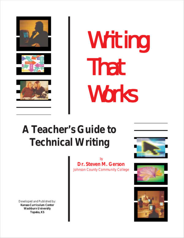 teacher technical writing guide