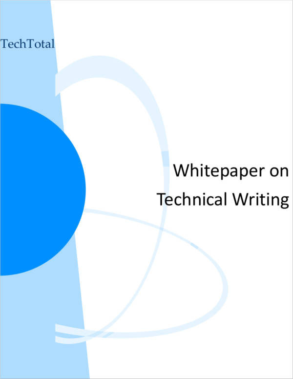 white paper technical writing