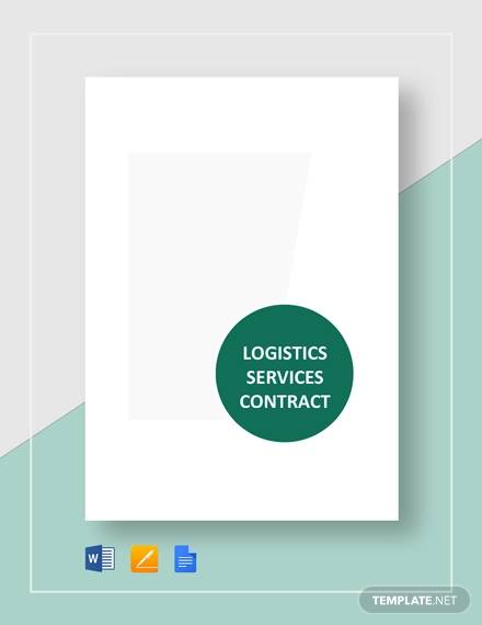 logisitics services contract