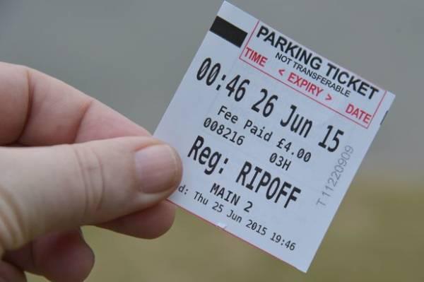 FREE 6+ Parking Receipt Samples in PDF | Word