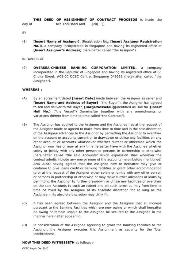 deed of assignment of shipbuilding 01