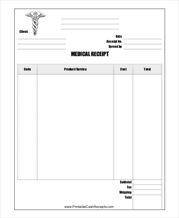 free 9  store receipt templates in pdf