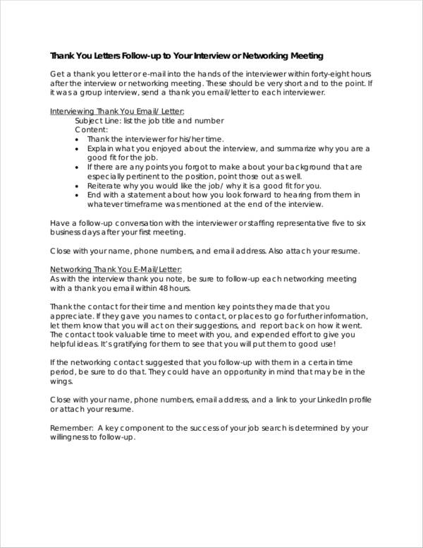 9 meeting thank you letter samples and templates pdf word network metting thank you letter expocarfo Images